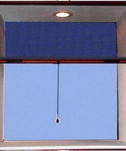 Cửa lưới chống muỗi tự cuốn màu vân gỗ HM0030