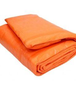 Tấm bạt che mưa nắng màu cam HM0075